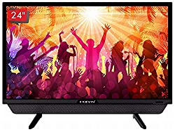 "24"" HD Ready Kevin D-LED Television with Zero Dot A+grade panel. Resolution 1366x768 pixels, Eco Vision, Power Audio. 178/178 degree (H/V)wide viewing. Connectivity - Input: 2 HDMI Ports,2 USB Ports with (USB TO USB) Copy function, 1 VGA Port. HRDD T..."