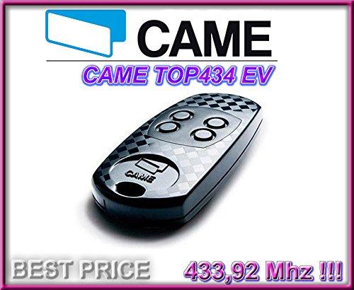 Taste Lithium-batterie-top (CAME TOP434EV Fernbedienung Contol. Hohe Qualität Original 4-Kanal Came Top 434ev Fernbedienung. Fester Code, Frequenz 433,92MHz)