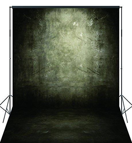CapiSco Fotohintergrund Fotografie Stoffhintergrund Stoff Hintergrund Fotostudio Beton Fleckige Wand Boden 1,8 X 2,7m MT03B