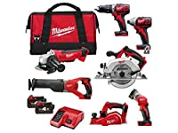Milwaukee M18BPP7A-402B M18BPD, M18BID, M18BSX, HD18CS, HD18AG, M18TLED, M18BP, M18B4 X 2, M12-18C, Bag NEW