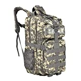 Backpack Mountaineering Backpack Professional Outdoor Sports Hiking Bag 35L Army Camouflage Tactical Backpack