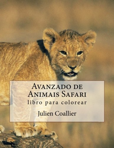 Avanzado de Animais Safari: libro para colorear par Julien Coallier