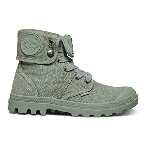 Palladium  Pallabrouse Baggy, chaussons d'intérieur femme Vert (Oil Green/silver Birch)