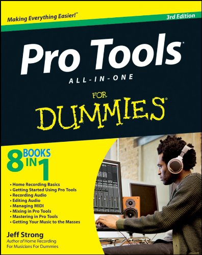 Pro Tools All-in-One For Dummies por Jeff Strong