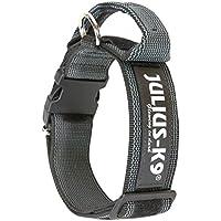 Julius-K9 - Collar para perro, Negro (Black/Gray), 50 mm*49-70 cm