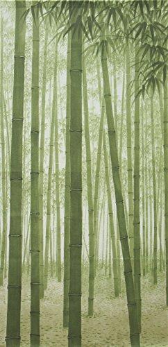 Cosmo Noren Japanischer Türvorhang Bambus Wald 80 x 150 cm