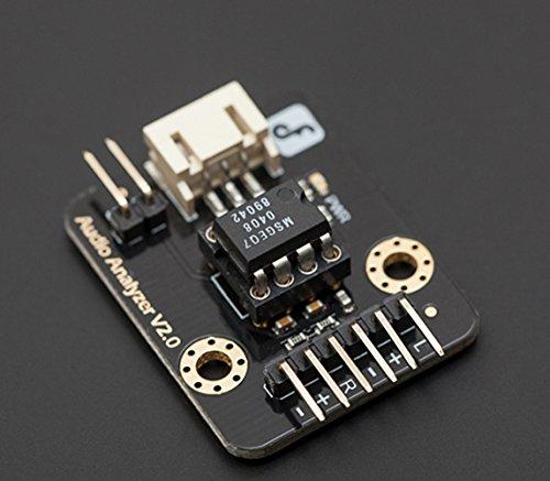 Audio analyzer/questo modulo può essere utilizzato per creare suoni Visualizers, Detect motivi in musica o aggiungere attivazione sonora microcontroller.