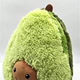 Cute Stuffed Avocado Toy Kids Soft Plush Toys Pillow Cushion for Baby Girls Boys Birthday Party Gift, Different Sizes (25cm)