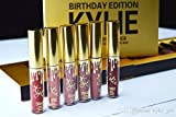 Kylie Birthday Edition Lipstick/Lipgloss collection 6 Lipstick set by Kylie