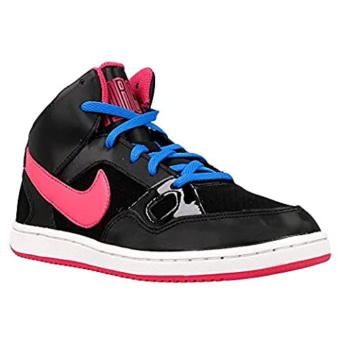 Nike Son of Force Mid (PS), Baskets Basses Fille, Negro