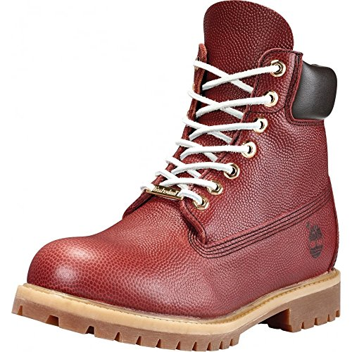 Timberland Men's Icon 6″ Premium A176M Football Leather Boot Brown-Brown-9