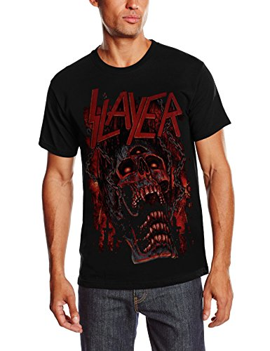 Slayer - Meathooks, Short sleeve da uomo, nero (black), M