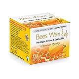 Natürliche und Biologische Reine Bienenwachs Crème - Hergestellt aus natürlichen Inhaltsstoffen - 50ml - Ein Naturheilmittel für Ihre Haut - Sehr effektiv bei trockener und rissiger Haut