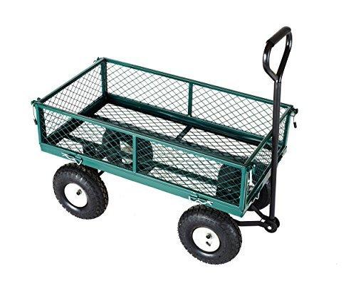 Neo® Heavy Duty Métal Festival Diable Waggon Remorque Jardin chariot 4roues