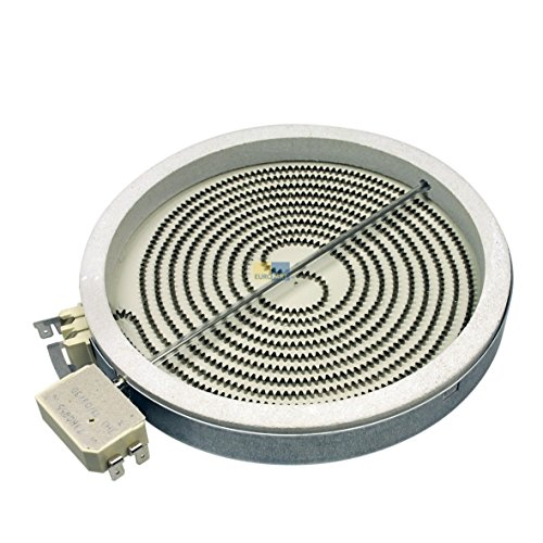 Inyección Radiador de calefacción Zona vitrocerámica 180mmØ 1700W 230V Horno Whirlpool 481231018889