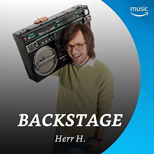 Backstage mit Herr H.