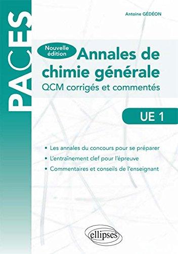 Annales de Chimie Générale PACES UE1