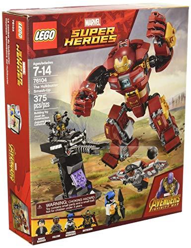 Lego Marvel Super Heroes Avengers: Infinity War The Hulkbuster Smash-Up 76104 Building Kit (375 Piece)