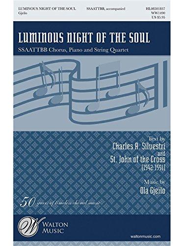 Luminous Night of the Soul - SSAATTBB - BOOK