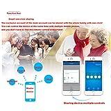 QHJ Digitale Zeitschaltuhr,4CH R2-Kanalfernbedienung Smart WiFi Switch Home Automation Timer