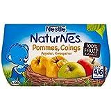 Blottir Naturnes Pommes Et Coings (4/6 Mois) 4 X 130G - Paquet de 4