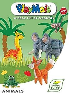 PlayMais 4512 - Collage: Libro de creación de Animales