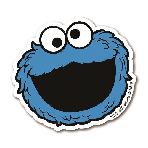 Magnet Krümelmonster Sesamstrasse - Cookie Monster - Kühlschrankmagnet - Lizenziertes Originaldesign - LOGOSHIRT