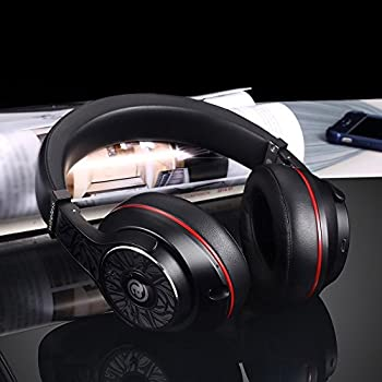 Aladdinaudio Wireless Bluetooth Headphones With Microphone Over-ear Stereo Headsets, Volume Control, 30 Hours Playtime - Black 3