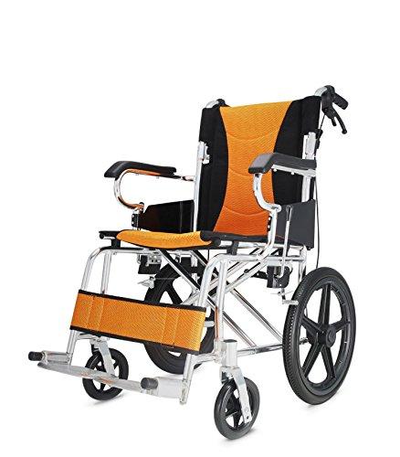 polironeshop pratik carrozzina pieghevole da transito sedia a rotelle alluminio