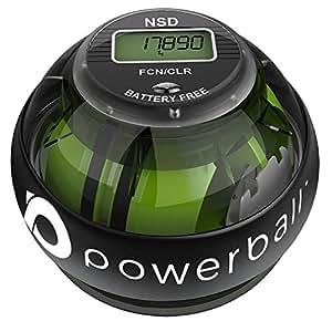 POWERBALL 280 Autostart Pro Balle d'Exercice à Main Mixte Adulte, Noir