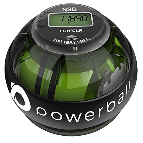 Powerball 280hz autostart pro - palla per esercizi giroscopica - migliora la presa, rafforza i muscoli dell'avambraccio - riabilita da dolore e fratture ai polsi