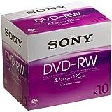 Sony DVD RW Minus (2X Speed) 10