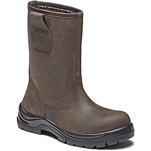 Mens Water Resistant & Breathable Rigger Boot Composite Metal Free Composite Toe-Cap Shock Absorbent Heel FC9519 UK 5-12