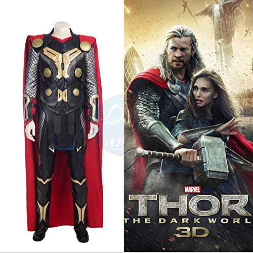 Avengers Thor Deluxe Kostüm Für Erwachsene Kind Kostüm Cosplay Party Outfit Infinity War Superheld Latex,Adult-M