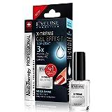 Eveline Cosmetics Nail Therapie X-Treme Gel Effekt Top Coat Mega Glanz Nagelhärter 12ml