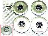 Original Fiat Punto (Facelift ab Bj 2003) Felgendeckel Radkappen Nabendeckel - Set 4 Stück - 51705278