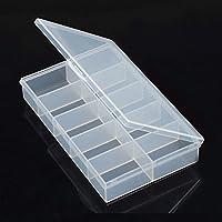 MagiDeal 1pcs Desmontable 10 Ranuras Componentes Plásticos Cajas de Almacenamiento de Herramientas