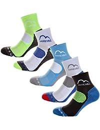 More Mile London (5 Pack) Mens Running Socks