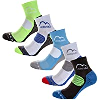 More Mile London (5 Pack) Mens Running Socks