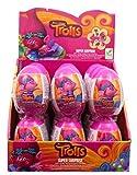 DreamWorks Trolls - 24 huevos sorpresa con caramelos y regalo
