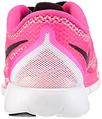 Nike Nike Free 5.0 Flash, Chaussures de running femme Pink (Pink Pow/Black-Polarized Pink)