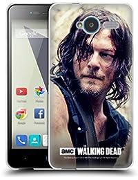 Oficial AMC The Walking Dead Daryl Dixon Caso de Gel Suave para ZTE Teléfonos