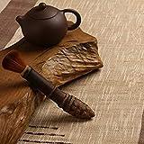 CB007 : The Pot Pen Brush Bamboo pinceis Handmade Tea Brush Tea Set Cleaning limpeza Cleaning Hair dust Brush FreeShipping