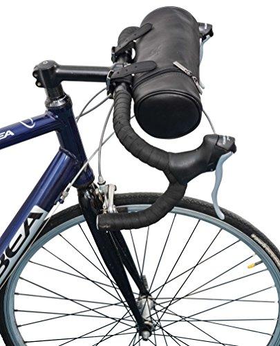 """Gusti Leder studio """"Alexander W."""" Bolso de Cuero para Bicicleta Herramientas Agua Sombrilla Práctico Espacioso Utensilios Mujer Hombre Unisex Estilo Vintage Retro Piel Auténtica de Búfalo Cartera 2G19-22-5"""