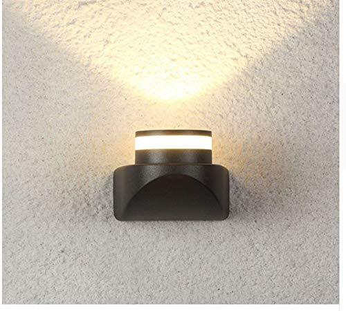 Aussenlampe Wandbeleuchtung Wandlampe Wandleuchte Innen Außenwandleuchte Garten Led Wandleuchte Mode Moderne Lichter Leuchte Luxus Kunst Hausbeleuchtung Wasserdicht A -