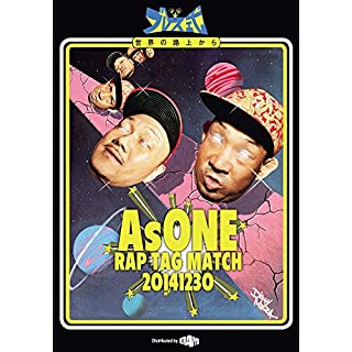 AsONE -RAP TAG MATCH- 20141230 [DVD]
