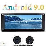 XISEDO Android 9.0 Autoradio 8 Core 10.25' In-Dash Car Radio RAM 4G ROM 32G Autonavigation mit Multitouch-Bildschirm für BMW 5-E39/BMW X5-E53 (mit Lenkrad-Steuertasten)