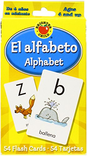 El Alfabeto / Alphabet (Brighter Child Flash Cards)