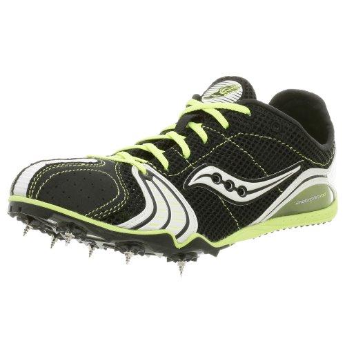 Saucony Endorphin MD, Herren Sportschuhe - Running Schwarz (Black/Green)