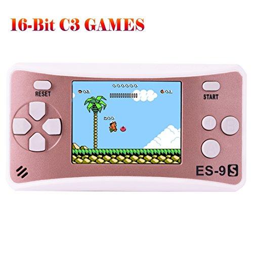 Niños Consolas de Juegos de Mano Portátil Retro Handheld Game Consol
